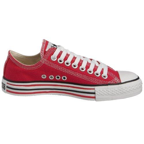 Converse , Décontracté mixte adulte Rouge - Framboise/blanc