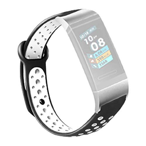 Huawei Gurt, Webla, Sport Silikon Gurt Band Silber Stecker Für Huawei 3/3Pro Smart Watch, Metall A (A)