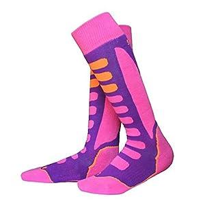MEIHAOWEI Verdicken Baumwolle Unisex Kinder Jungen Mädchen Winter Sport Socken warme thermische Ski Snowboard Socken Wandern Wandern Strümpfe Wärmer