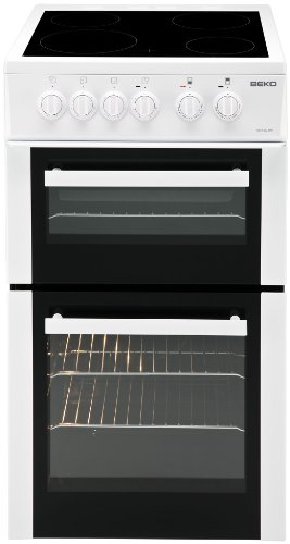 beko-bdc5422aw-50cm-double-cavity-electric-cooker-with-ceramic-hob-white
