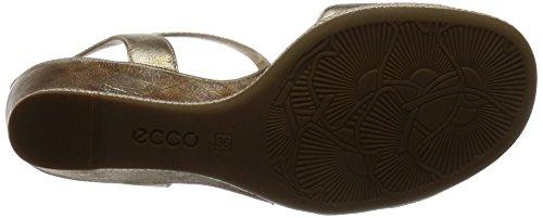 ECCO - Ecco Rivas 45 Ii, Sandali Donna Gold (1091GOLD)