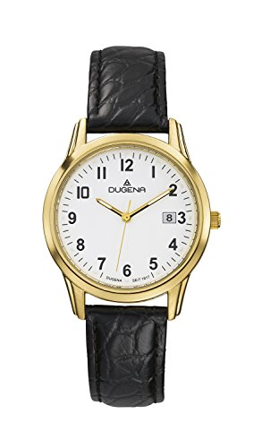Dugena Classic Gents Watch Quartz Watch With Leather Strap  4460312