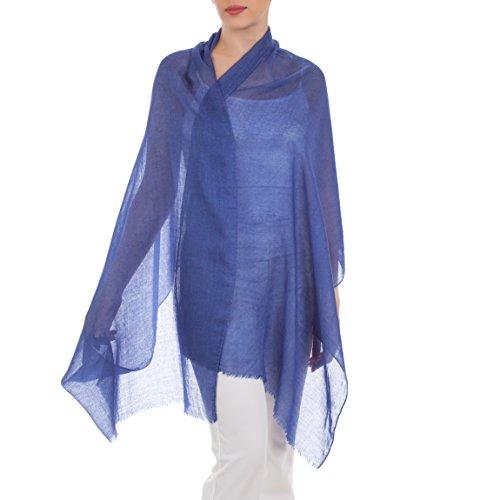 Ivory Blush Store - Pashmina - Femme Bleu
