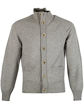 Tom Ford CL Gray Button Cardigan Size 48/38R U.S. In Cashmere