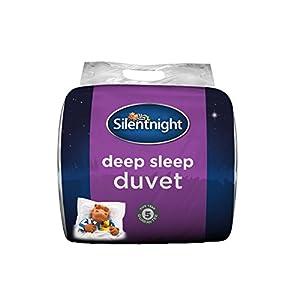 Silentnight Deep Sleep 10.5 Tog Duvet, Microfibre, White, King