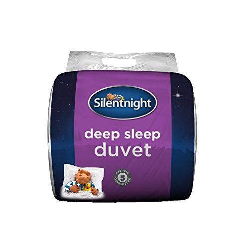 Silentnight Deep Sleep Duvet, 13.5 Tog, White, Single 2