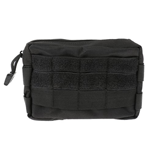 Sports Bag Bag Waist Pack Outdoor Sports Tactical Back Molle Bum Phone Strap Tie - Black, 3 cm x 2 cm