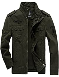 DEMO Herren Jacken Baumwolle Classic Military Jacke Mäntel Männer Armee  Combat Uniform Outdoor Jacke Mantel Parka 0ef03b1170