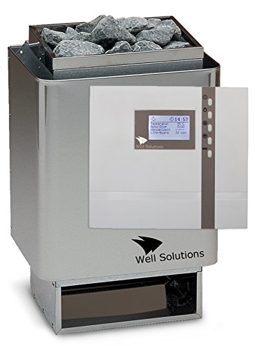 Well Solutions® Sauna Technik EOS 34A 9 kW, ECON D2, Steine, Made in Germany