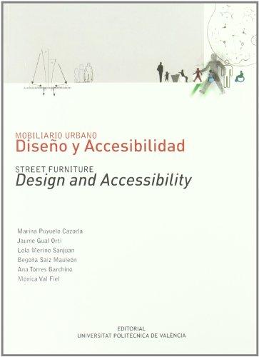 Mobiliario urbano : diseño y accesibilidad (Académica)