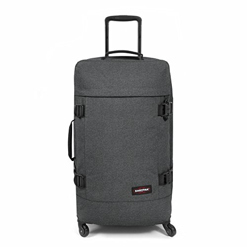 Eastpak Trans4 M Maleta, 70 cm, 68 Litros, Color Black Denim (Gris)