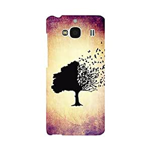 Phone Candy Designer Back Cover with direct 3D sublimation printing for Xiaomi Redmi 2