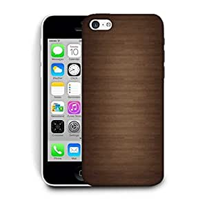 Snoogg Wood Wall Pattern Design Printed Protective Phone Back Case Cover For Apple Iphone 5C