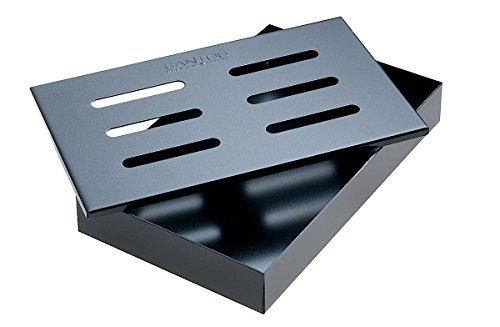 Santos Smokerbox Räucherbox Black Grillzubehör für Gasgrill, Kohlegrill und Kugelgrill | Maße...