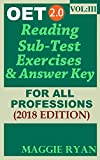 #3: OET 2.0 Reading 2018: For All-Professions: VOL. 3 (OET 2.0 Reading Books by Maggie Ryan)