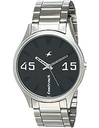 Fastrack Analog Black Dial Men's Watch-3229SM01
