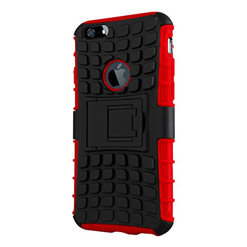 CruzerLite IP6-Spi-Orange Spi-Force Dual Layer Schutzhülle für Apple iPhone 6 orange Rot