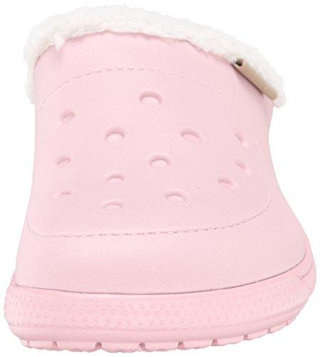 Crocs Colorlite Lined, Unisex-Erwachsene Clogs Pink (Pearl Pink/Oatmeal)
