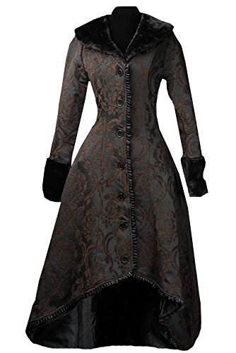 Dracula Clothing Mantel Brown Evil Princess