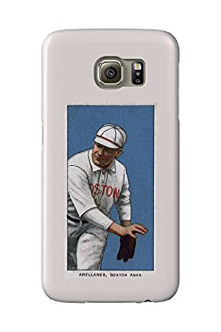 Boston Red Sox - Frank Arellanes - Baseball Card (Galaxy S6 Cell Phone Case, Slim Barely There)