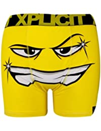 New Xplicit Mens Designer Novelty Rude Boxer Trunks Funny Shorts Underwear pants