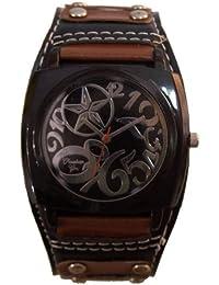 Reloj analógico de señora correa esfera negra - Christian Gar -Mod.7529