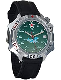 Vostok Komandirskie Mens Mechanical Russian Military Wrist Watch #531124
