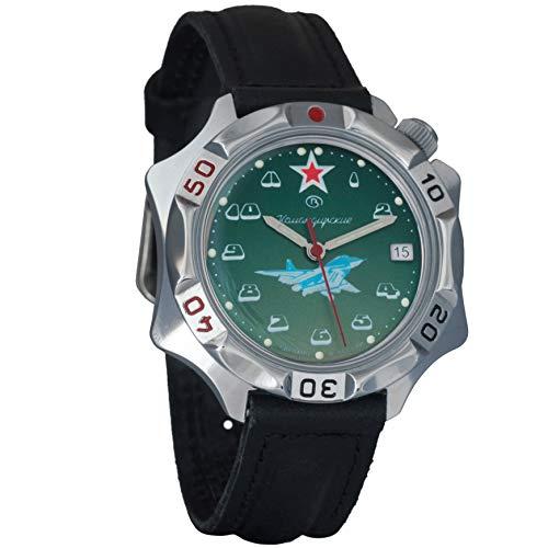 Vostok Komandirskie 2414531124militare russo air-force orologio meccanico
