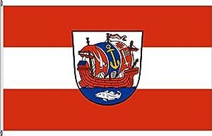 Flagge Fahne Bannerflagge Bremerhaven - 80 x 200cm