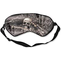 Skull Skeleton 99% Eyeshade Blinders Sleeping Eye Patch Eye Mask Blindfold For Travel Insomnia Meditation preisvergleich bei billige-tabletten.eu