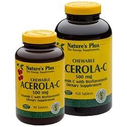 Acerola-C Vitamin C 500mg 150 Kautabletten NP