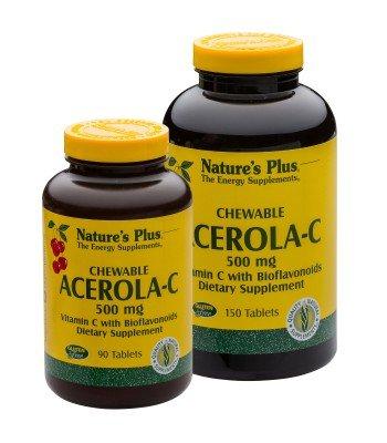 Acerola-C Vitamin C 500 mg 90 Kautabletten NP - Vitamin C Und 500 Mg Kautabletten
