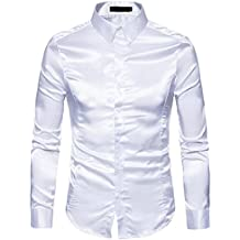 competitive price 46d5a cc952 Amazon.it: camicia raso uomo