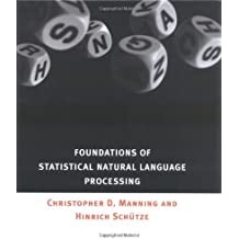 Foundations of Statistical Natural Language Processing 1st edition by Christopher D. Manning, Hinrich Sch¨¹tze (1999) Gebundene Ausgabe