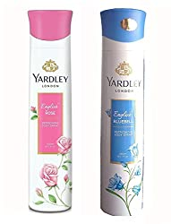 Yardley London English Rose And English Bluebell Deodorant For Women (150-ML)