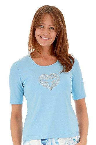 Eugen Klein - T-shirt - Femme bleu bleu bleu glace