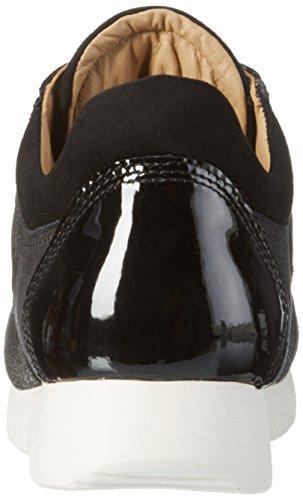 Unisa Barca_f16_Il, Baskets Basses Femme Noir - Noir