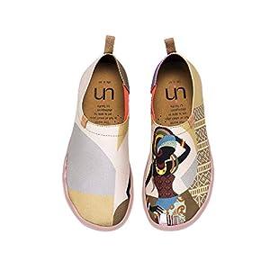 UIN Wandern Slip On Schuhe Damen Rot