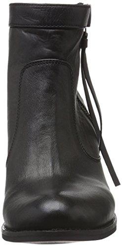 Black Lily Damen Raven Boots Chelsea Schwarz (Schwarz)