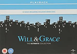 Will & Grace Complete: The Complete Series [33 DVDs] [UK Import]