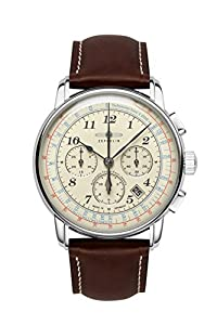 Zeppelin mens watch LZ126 Los Angeles Chronograph automatic 7624-5