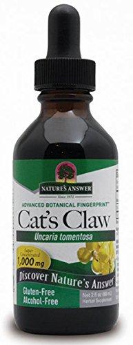 Nature's Answer | Katzenkralle (cat´s claw) | alkoholfrei | 1000 mg | 2 fl oz (60 ml) | vegan | glutenfrei -