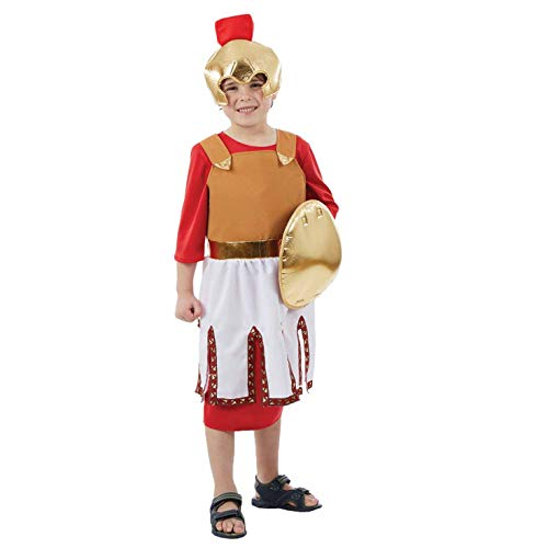 Boy Soldier Kostüm - Fun Shack FNK4454L Kostüm, Boys, Roman Soldier, L