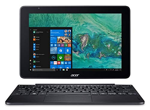 Acer One 10 S1003-10D1 Notebook, Processore Intel Atom x5-Z8350, 2M Cache, Fino a 1.92 GHz, RAM da 4 GB, eMMC da 128 GB, Display da 10.1in IPS FHD Multi-Touch LCD, Nero (Ricondizionato)