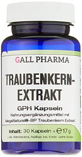 Gall Pharma Traubenkernextrakt GPH Kapseln, 30 Kapseln