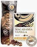 Aroma-Kaffee Macadamia & Vanilla 1000g Bohnen