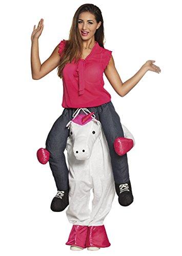 Funny Einfach Adult Kostüm - Boland 88097 Kostüm Funny, unisex-adult, Einhorn, L/XL