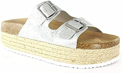 VIVES SHOES 112-1139 Sandalia plataforma esparto Ugly Shoes