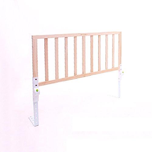 Barrière de sécurité YNN Lit Garde-Corps en Bois Massif Bébé Automne-lit Lit Clôture 1.8-2 Mètre Lit Baffle Enfants Pliable Multi-Shift Smart Bouton Pliant (Taille : 120cm Bed)