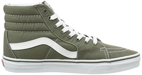 Vans Herren Ua Sk8-Hi Hohe Sneakers Grün (Canvas)